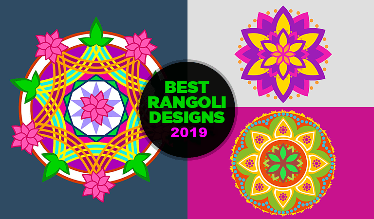 Best Simple Rangoli Designs for Diwali Festival