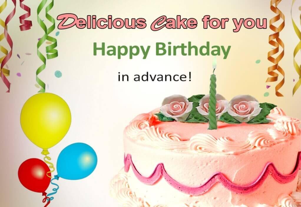 Cake Happy Birthday Wishes