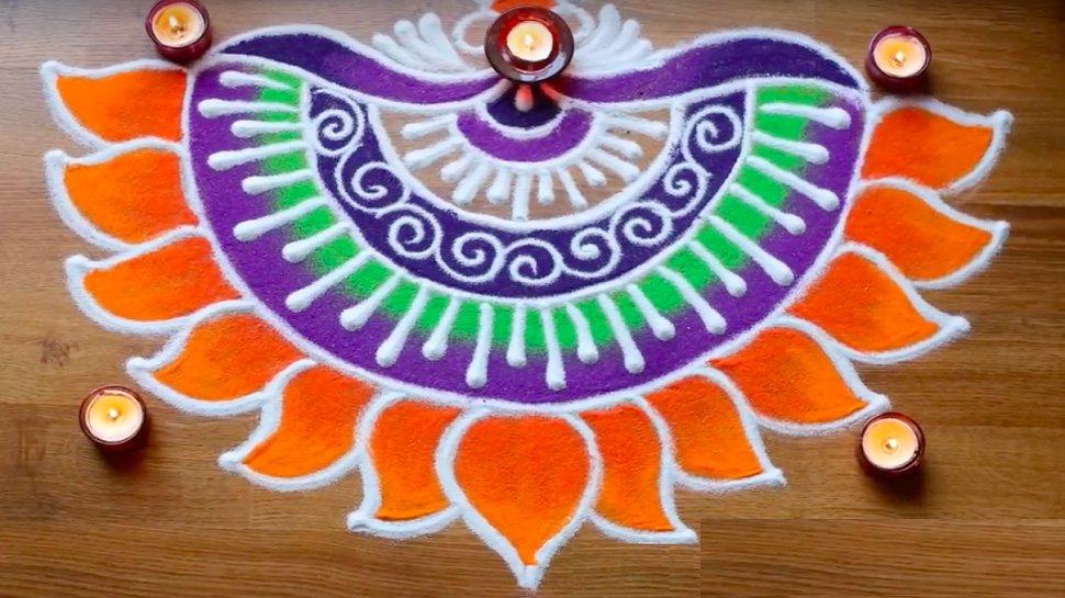 Diwali Rangoli Photo