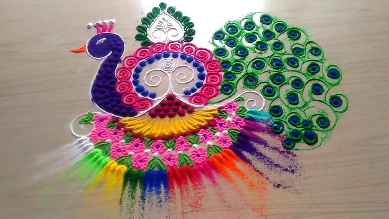 Diwali Rangoli Pics
