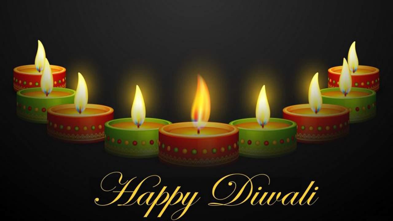 Diwali lamp Drawing Images