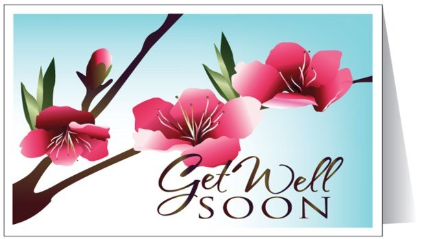 Get Well Soon Card Image