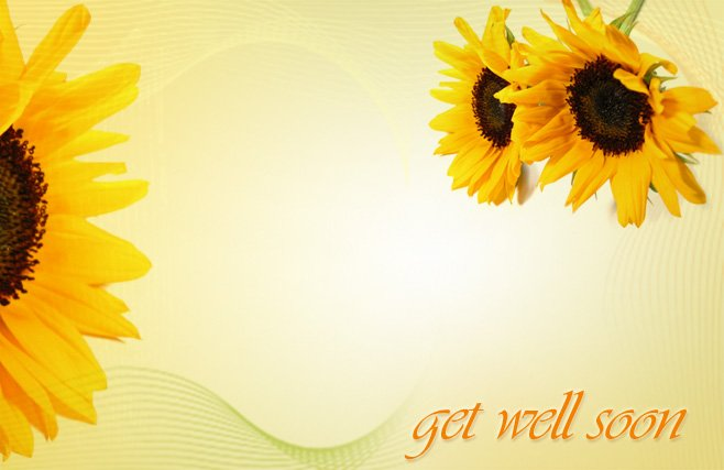 Get Well Soon Flower Image