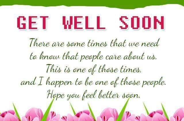 Get Well Soon Greetings