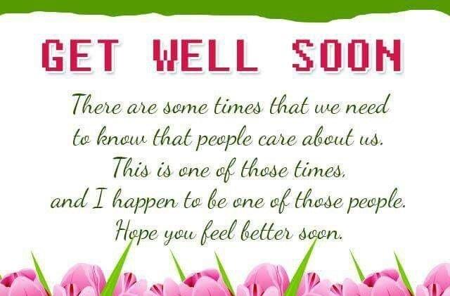 Get Well Soon Greetings