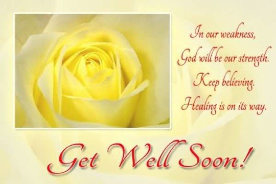 Get Well Soon Images for Best Friend
