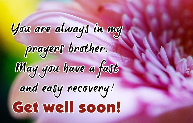 Get Well Soon Quotation