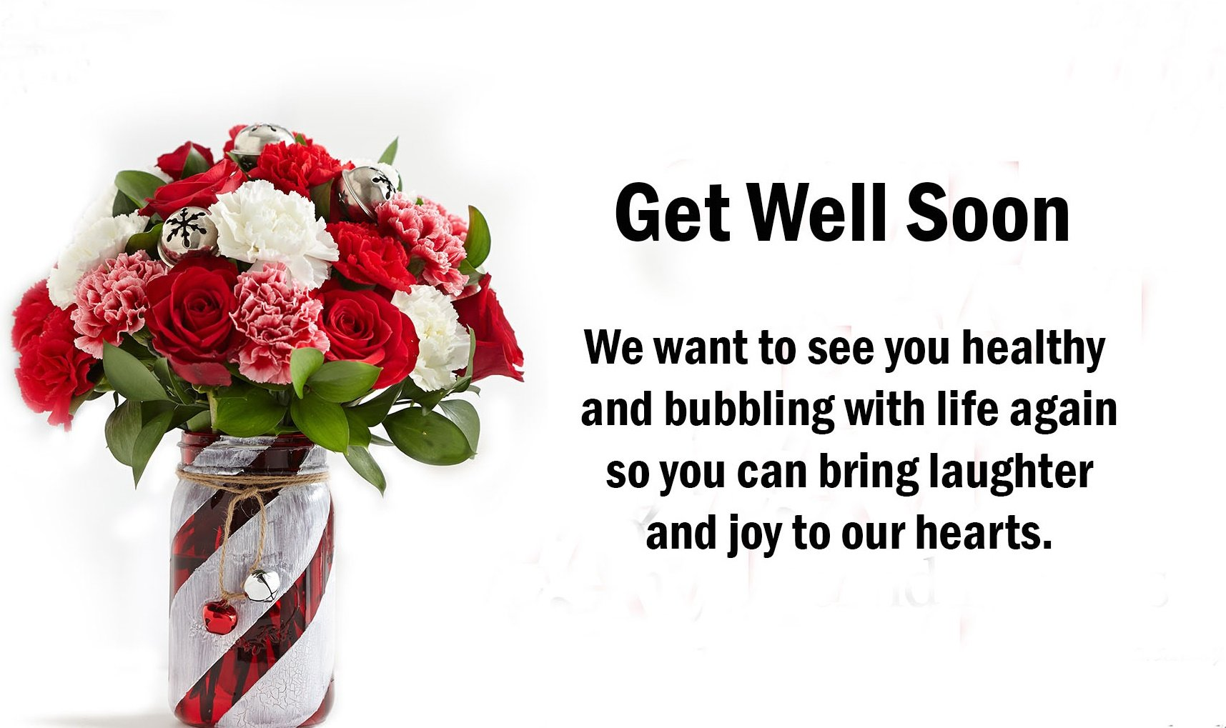 Get Well Soon Text Images