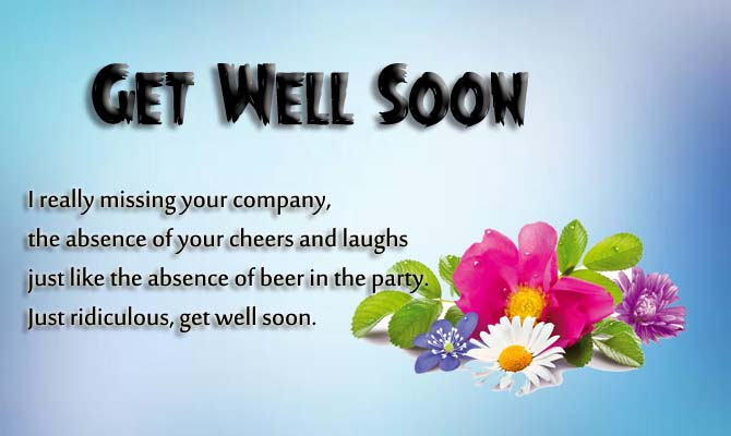 Get Well Soon Your Son