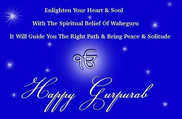 Guru Nanak Dev Parkash Purab Wishes