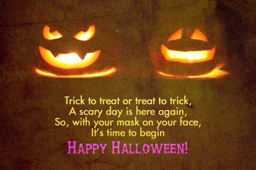 Halloween Day Messages