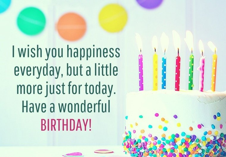 Happy Birthday Message Wishes