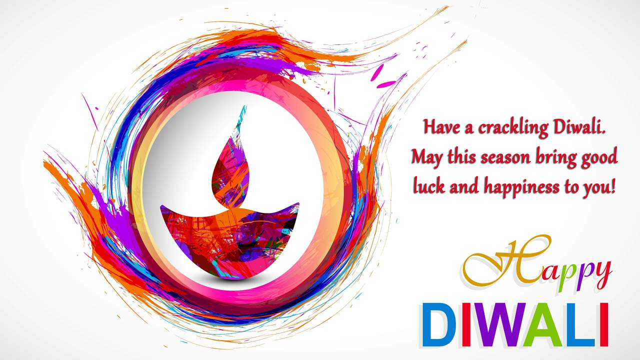 Happy Deepavali Colorful Pics