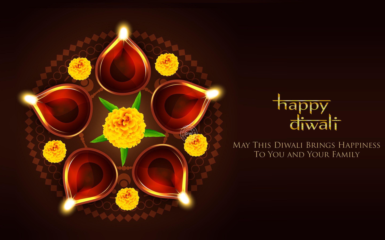 Happy Diwali Creative Background