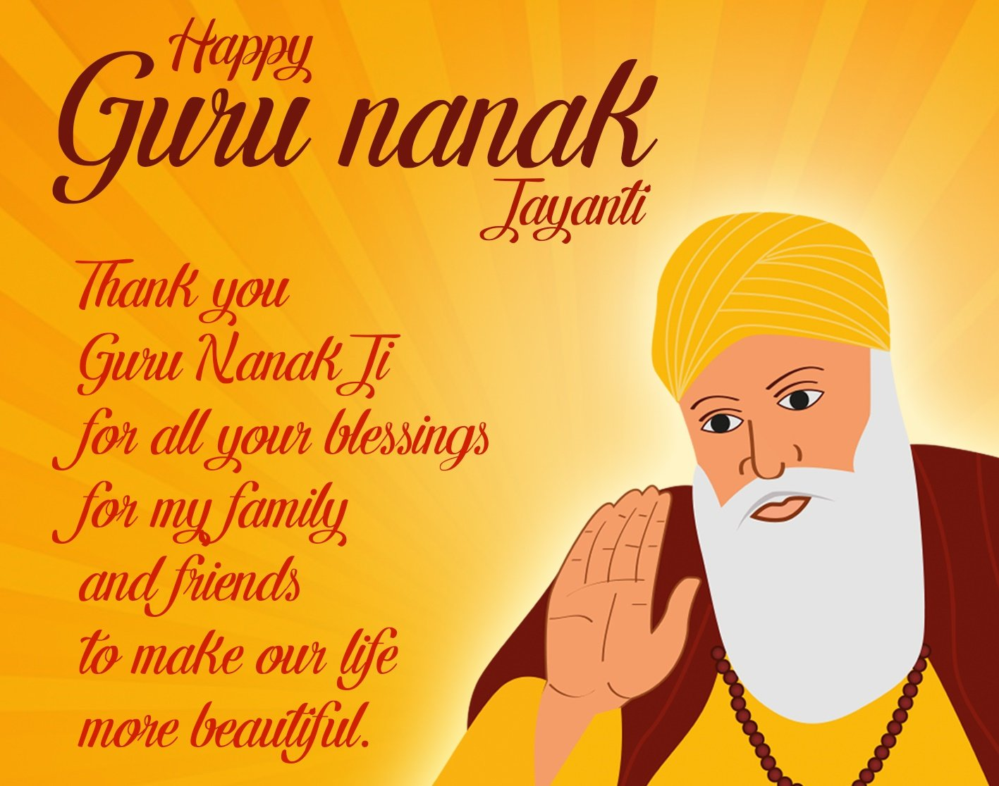 Happy Gurpurab Whatsapp Wishes