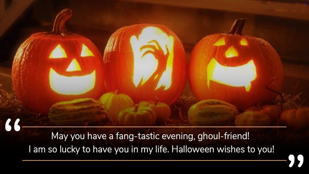 Happy Halloween SMS