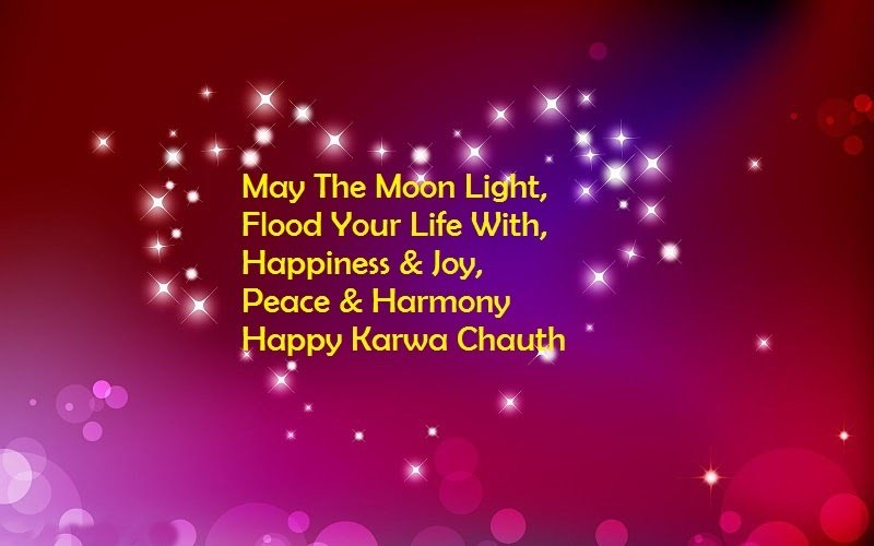 Happy Karva Chauth Wishes for Family