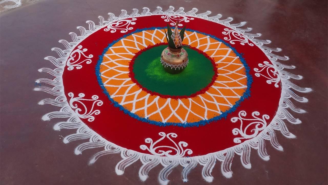 Images of Diwali Rangoli