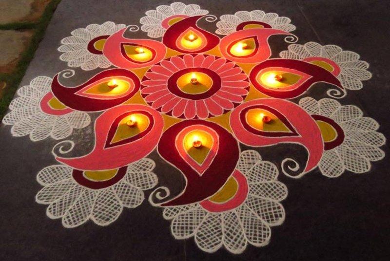 Images of Rangoli for Diwali