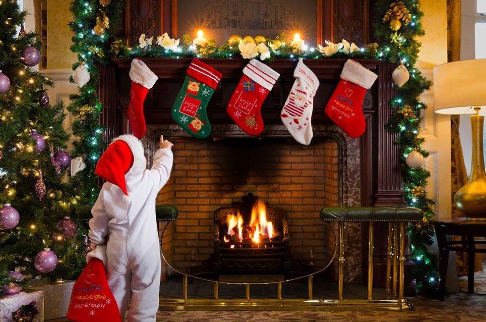 Kids Santa on Xmas