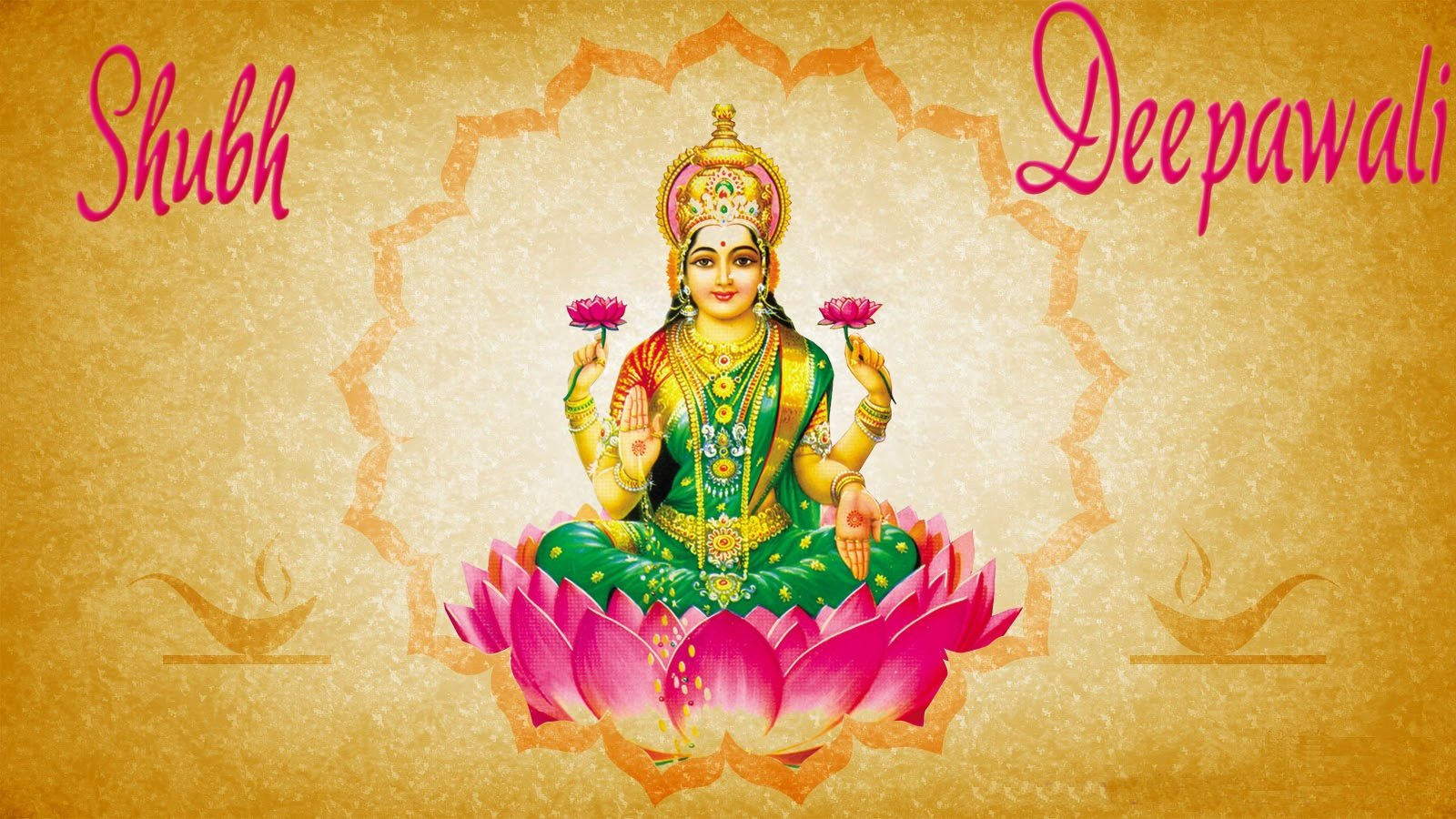 Maa Lakshmi Images on Diwali