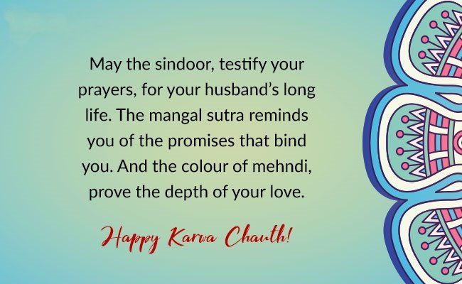 Marvelous Karva Chauth Quotes