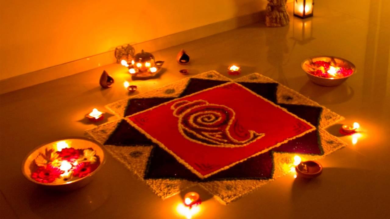 Photo of Rangoli In Diwali