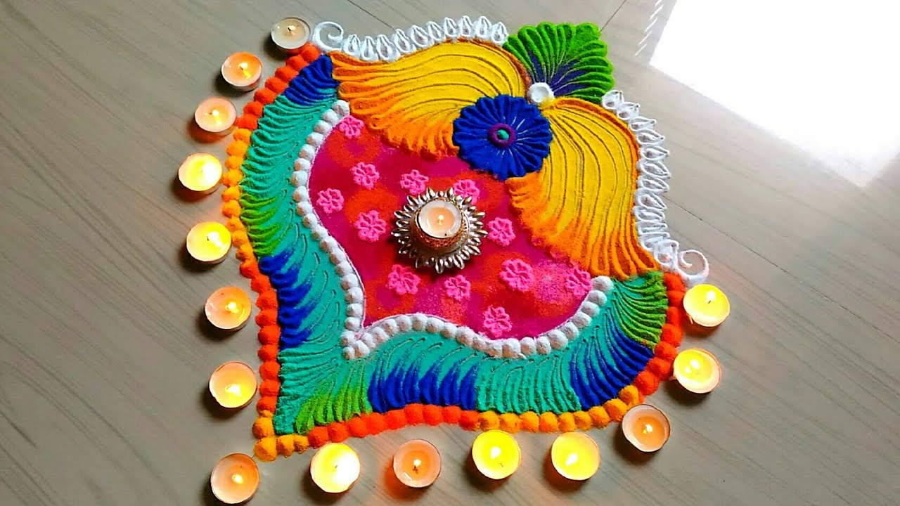 Rangoli Diwali Photo