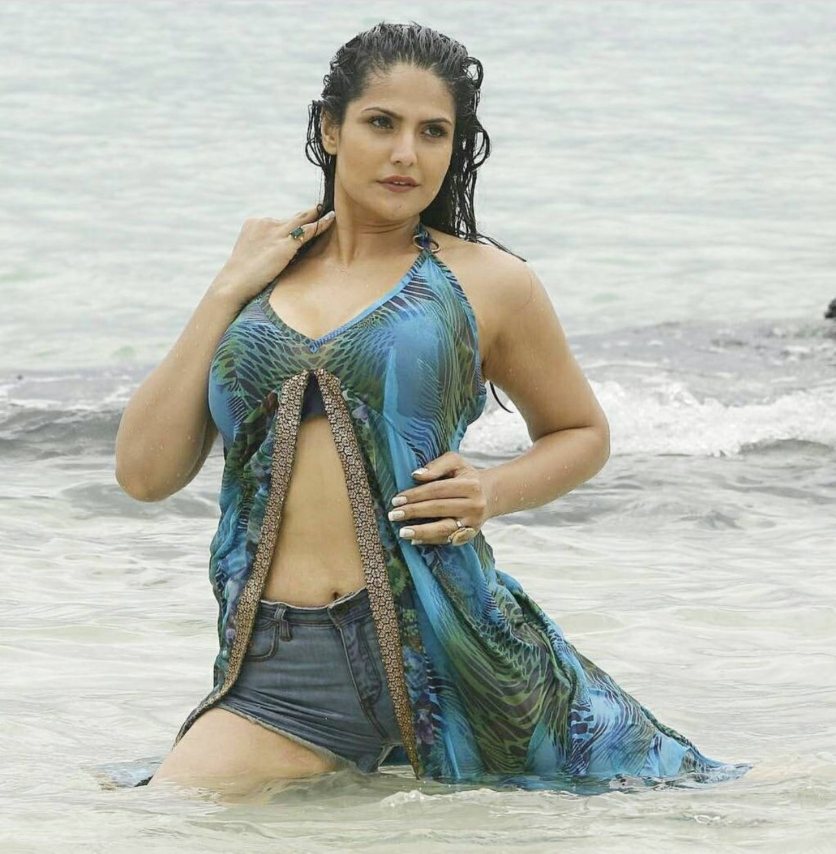 Zareen Khan Bikni Photos