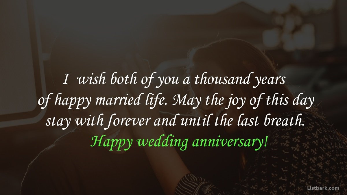 Anniversary Messages For Couples