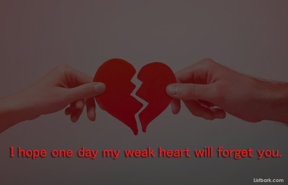 Broken Heart Wishes