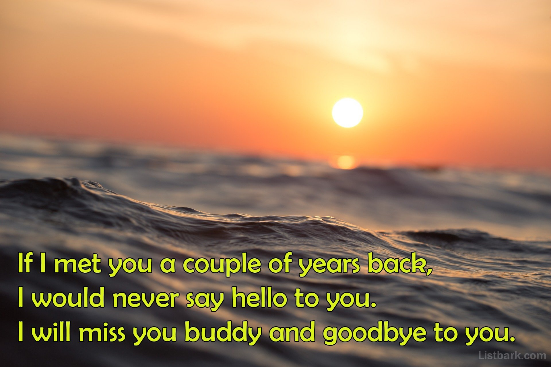 Emotional Goodbye Messages For Boyfriend