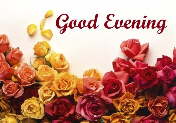 Good Evening Sms Images