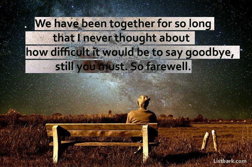 Goodbye Messages For Boyfriend