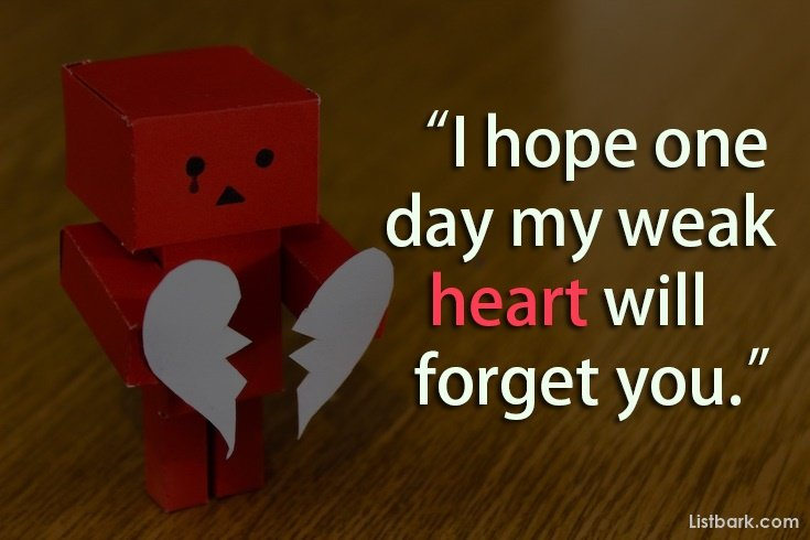 Heart Touching Broken Heart Sms