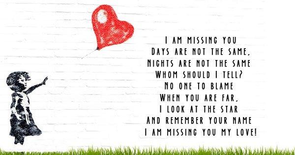 Heart Touching Miss You Status