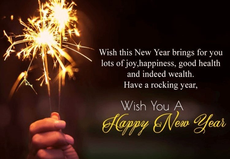 New Year Wishes To Crush
