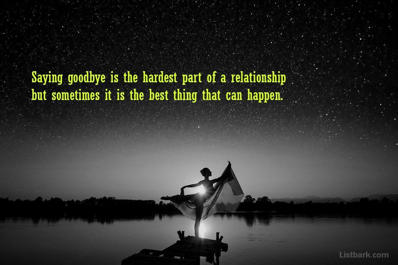 Sad Goodbye Messages For Boyfriend