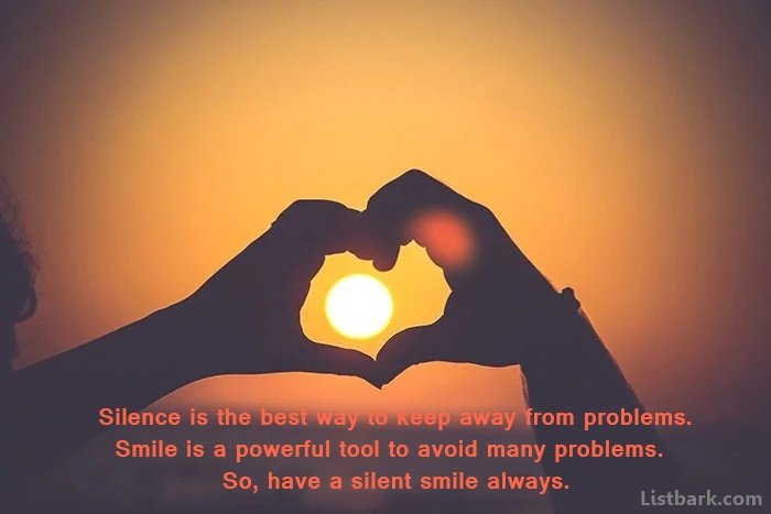Smile Messages For Friends