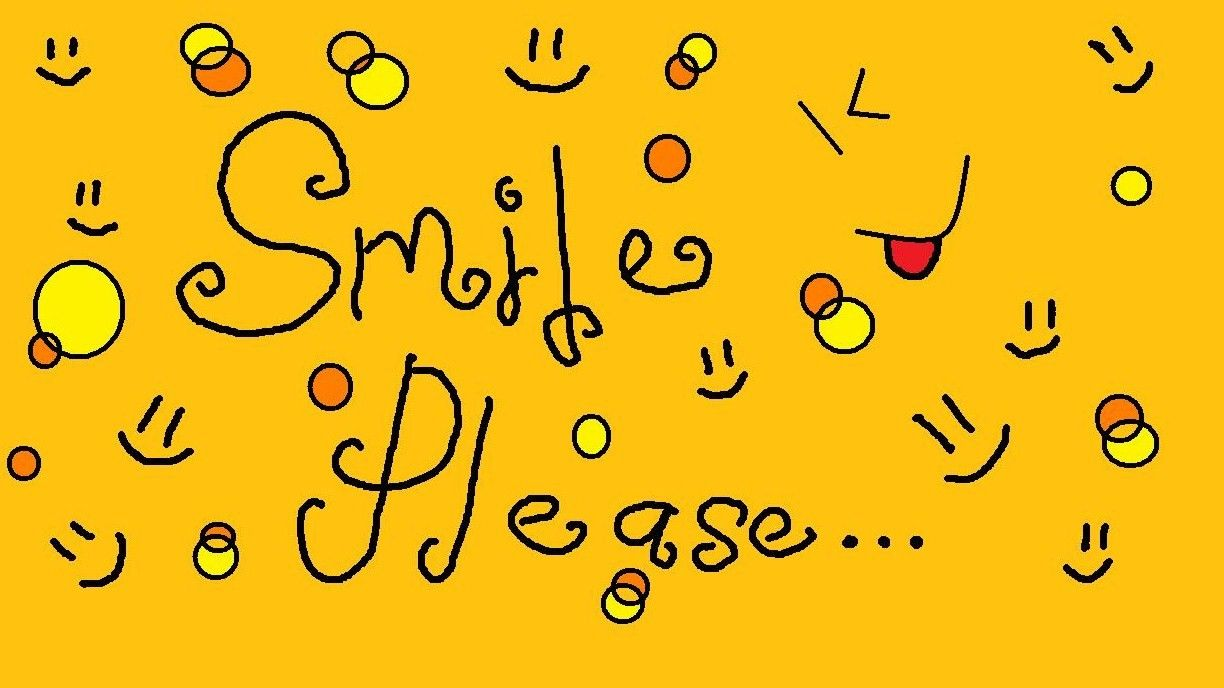 Smile Please Msg
