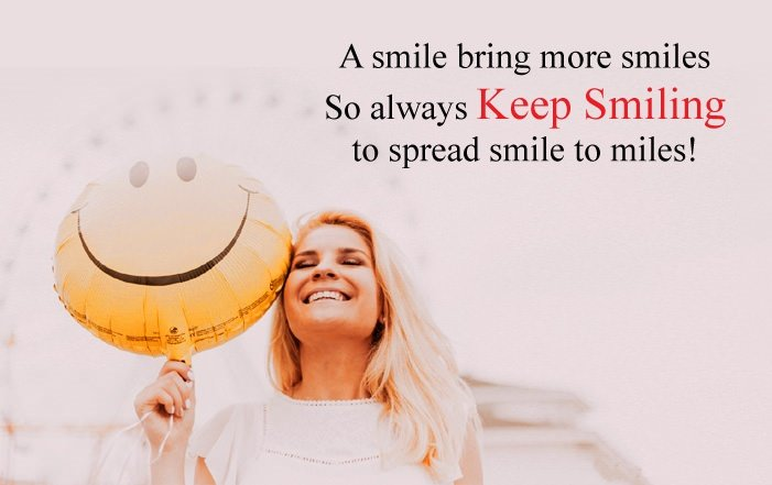 Smile SMS Text Message Wishes