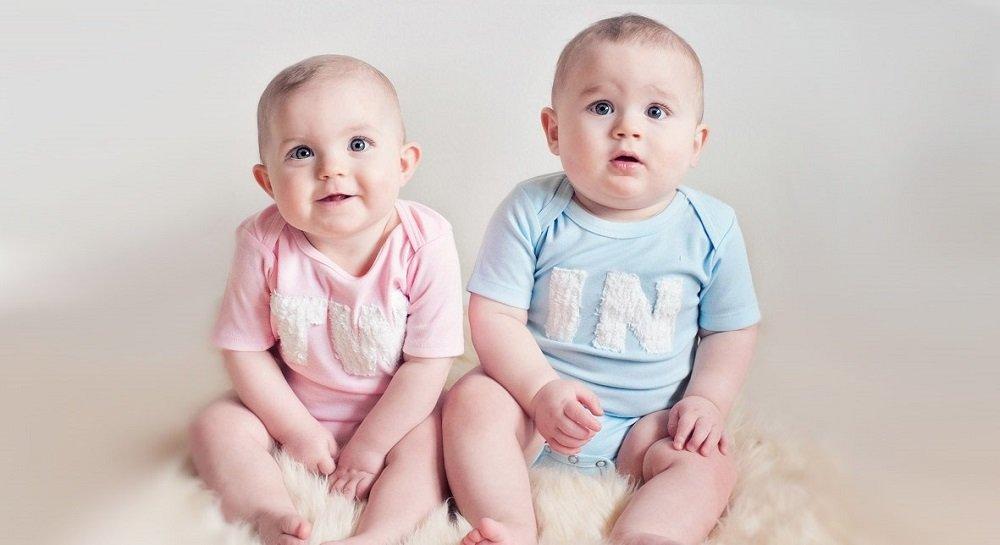Sweet Twin Babies