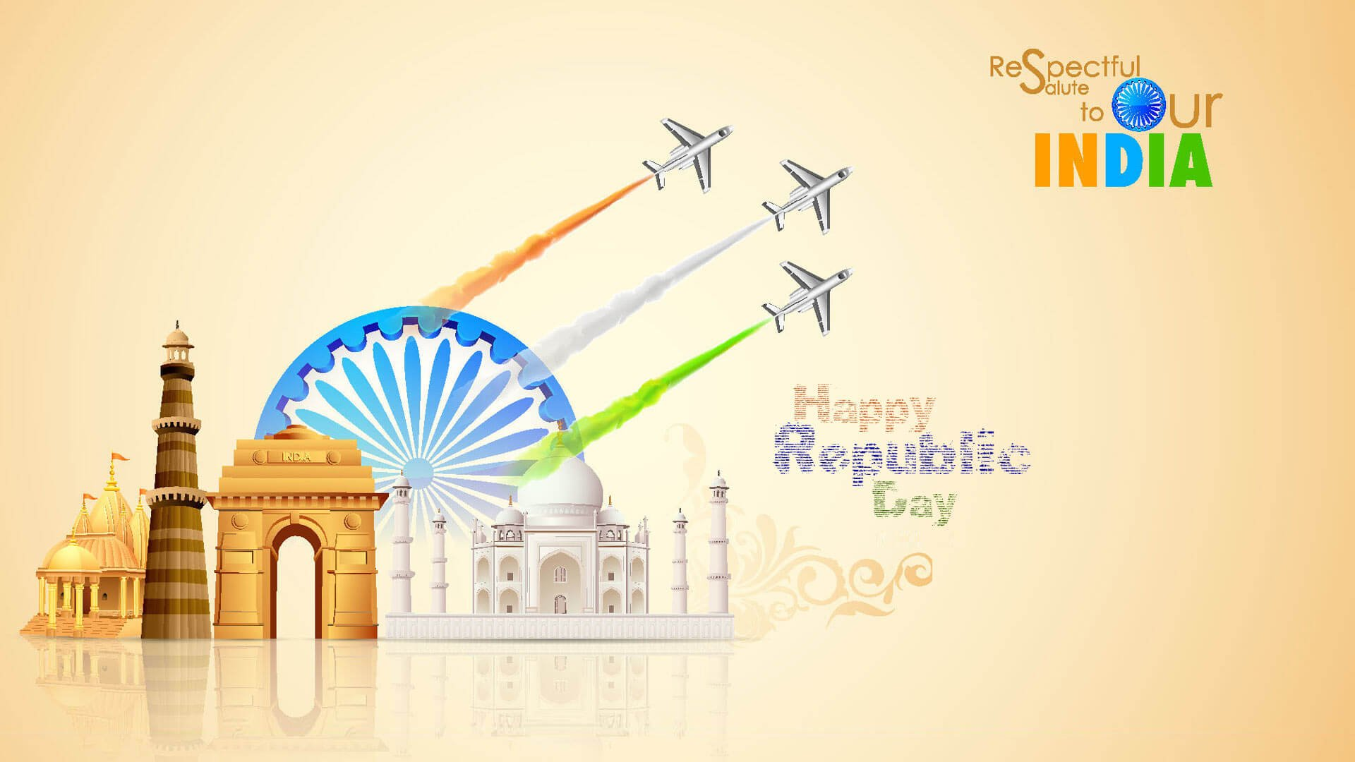 26 Jan Republic Day Images for Drawing