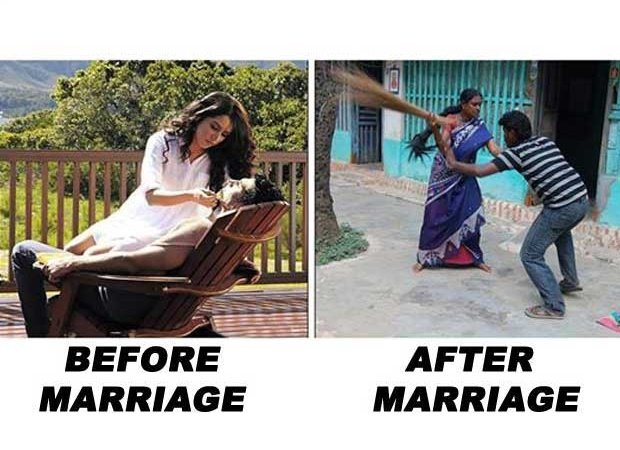 Before Marriage Vs After Marriage
