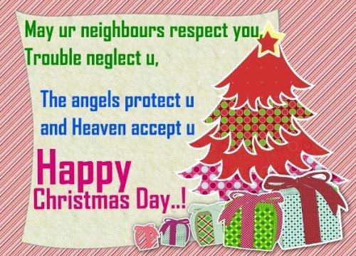 Christmas Day Status Free
