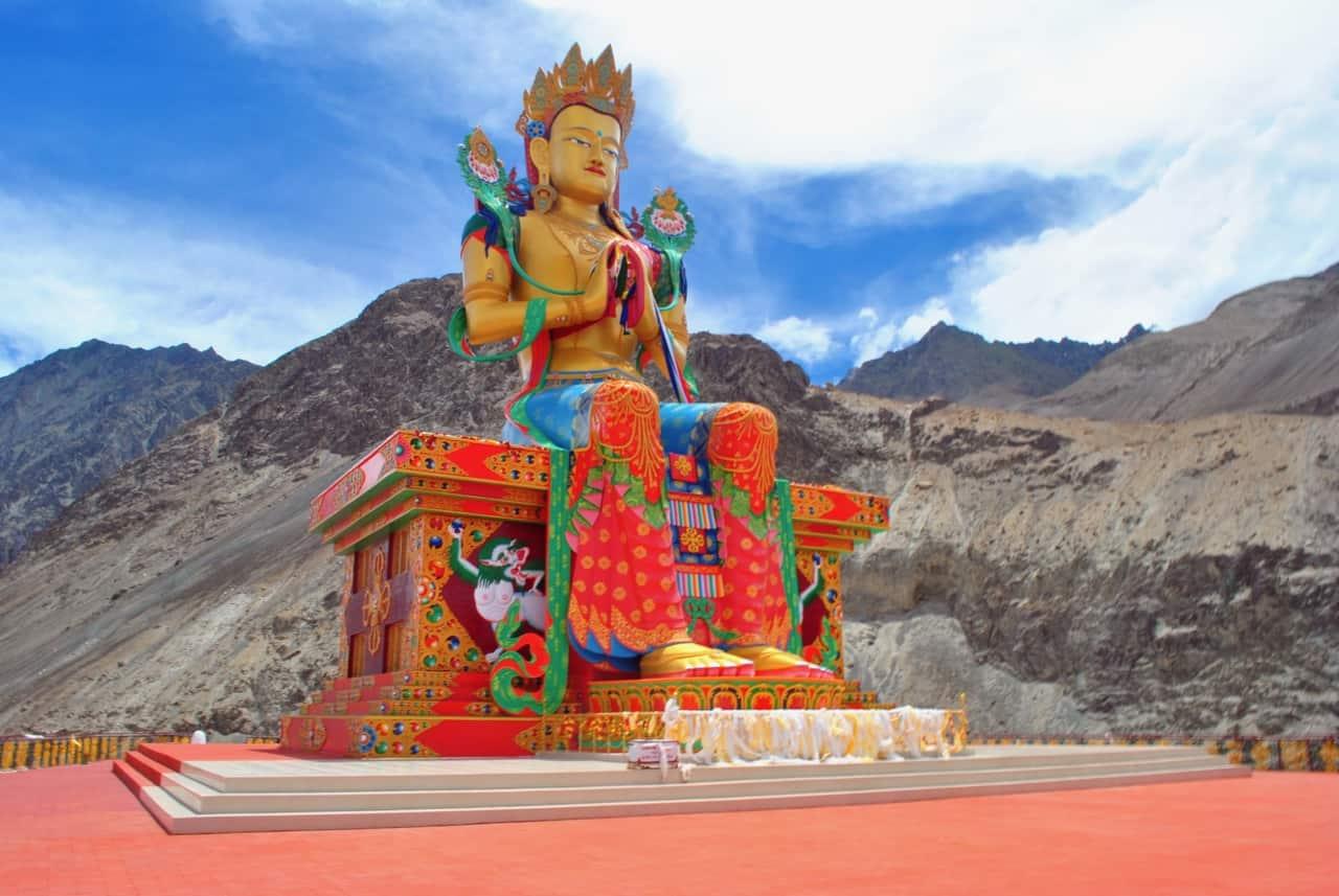 Diskit Monastery Nubra Valley Pictures