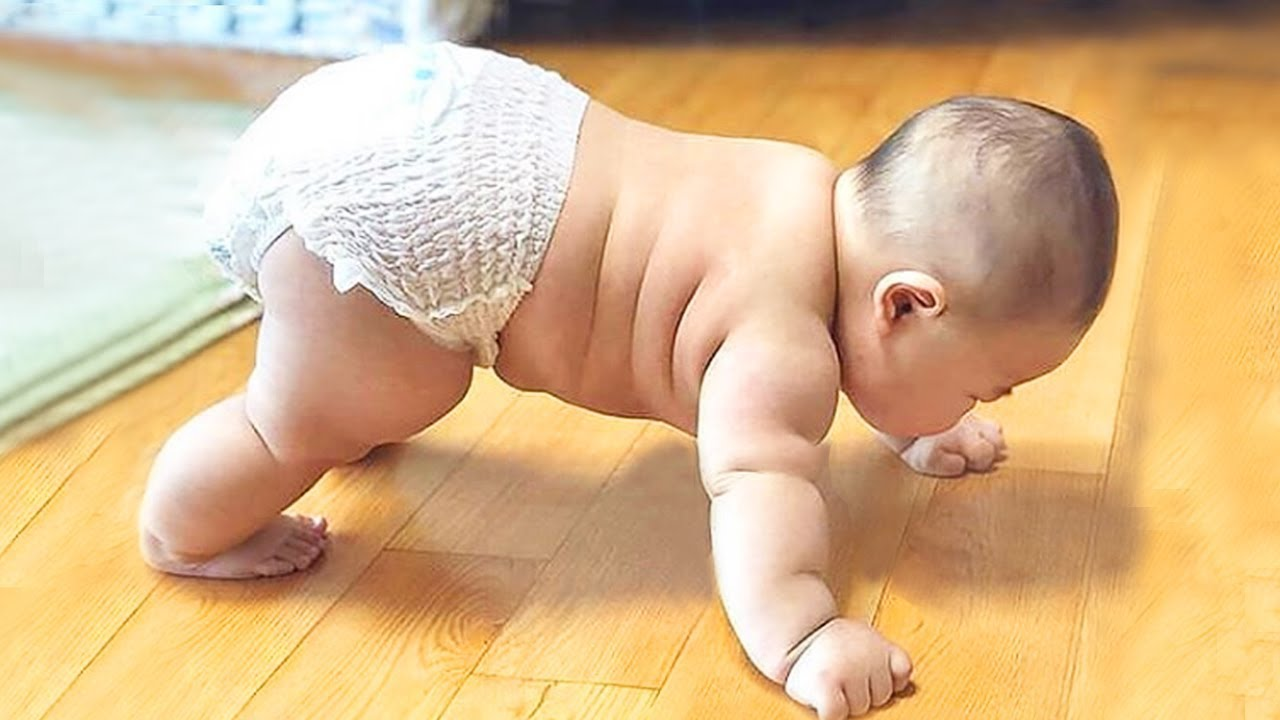 Exercise Baby Funny Piccture