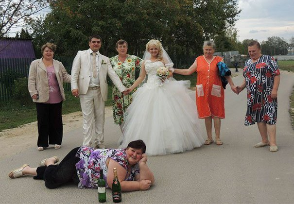 Funny Weird Wedding Photos