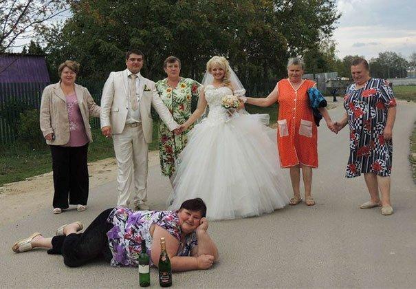 Funny Weird Wedding Photos