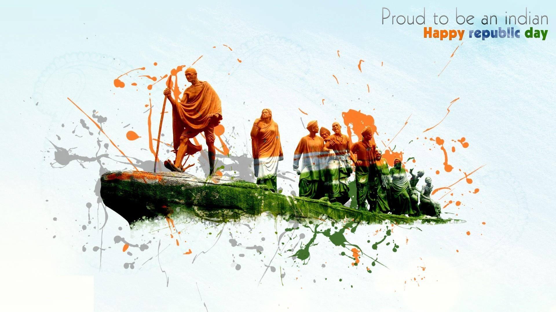 Gantantra Diwas Images